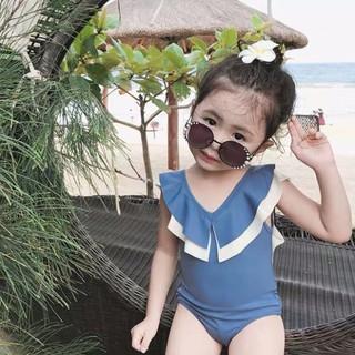 freeship 30k _ Set bikini đan dây sang chảnh cho bé gái 12-28kg