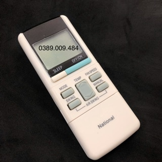 [Mã ELFLASH5 giảm 20K đơn 50K] Điều khiển điều hoà NATIONAL - Remote máy lạnh NATIONAL