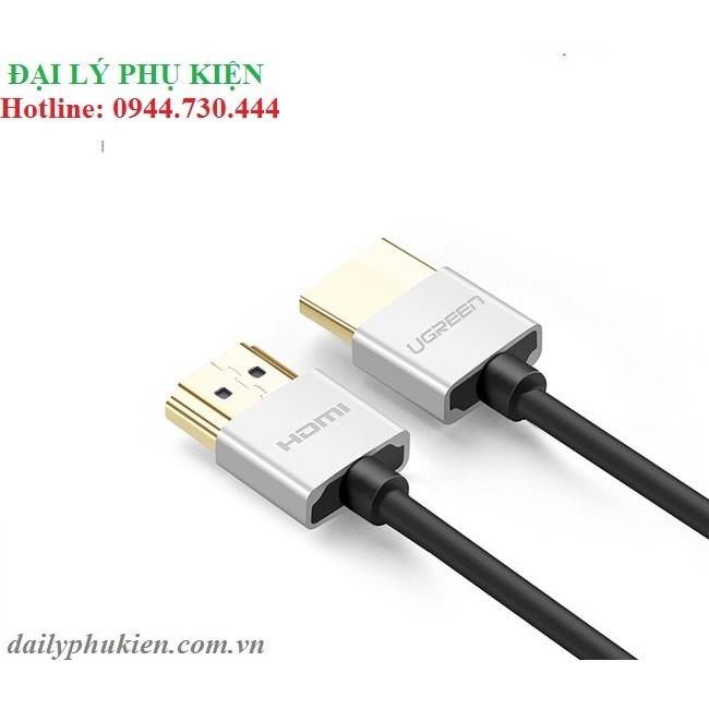 Cáp HDMI 2.0 dài 3m siêu mỏng UGREEN 30479