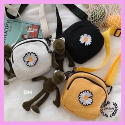 Túi hoa cúc tròn đeo chéo DH12