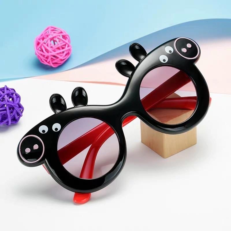 Mắt kính trẻ em nhiều màu hình con HEO