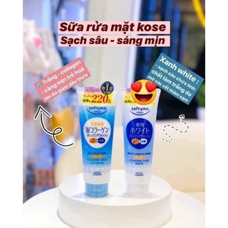 Hàng Nhật Chuẩn] Sữa Rửa Mặt KOSE Softymo Nội Địa Nhật thumbnail