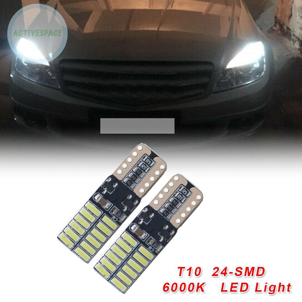 Đèn Led Dc 12v 24-led Cho Xe Mercedes-Benz W204 6000k