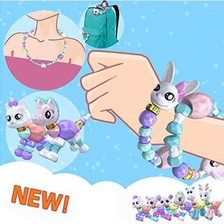 Cute Pet Bracelet,Beaded Magical Tricks DIY Toy Kids Girls