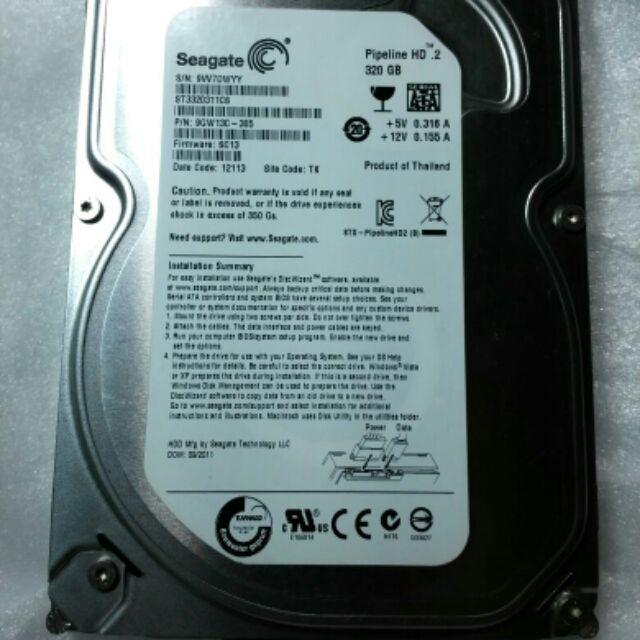HDD 320Gb Segate