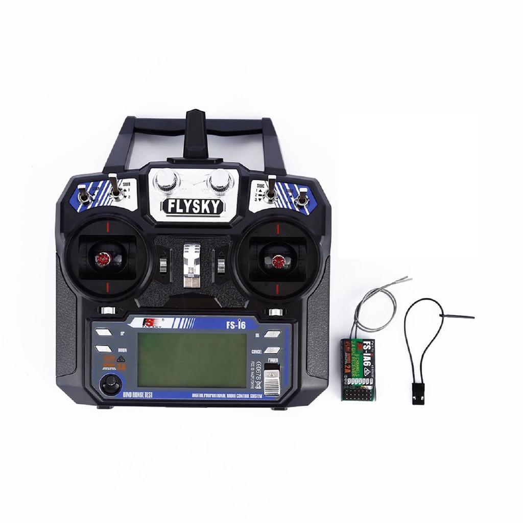 ☂⚡2.4G 6CH Transmitter With Receiver Heli UAV Multicopter for FlySky FS-i6