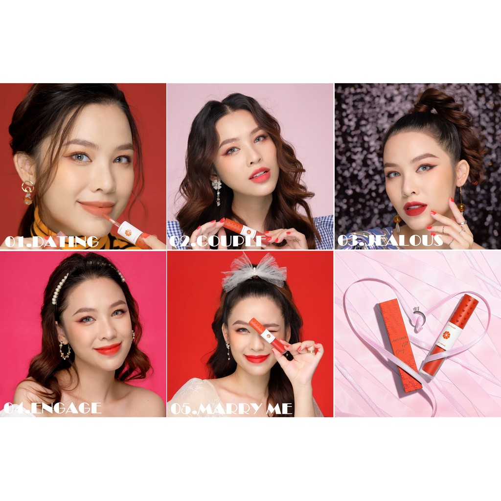[Mã COSFS3 giảm 10% đơn 150K] Son LEMONADE Perfect Couple Lip 7.5g - Love Collection