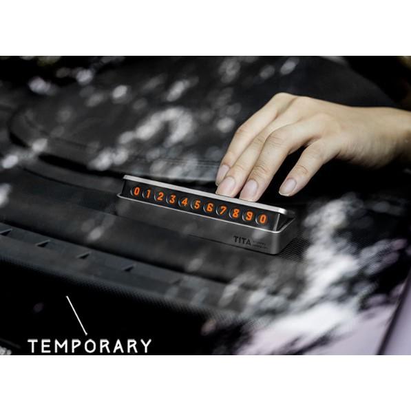 Thẻ để lại SĐT trên ô tô TITA