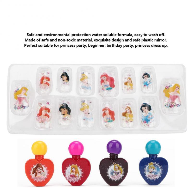 Henye Girls Beauty Makeup Princess Cosmetics Set Eye Shadow Nail Polish Toy