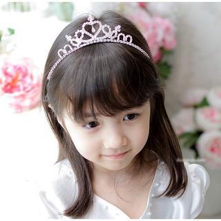 Vương miện công chúa đính kim cương giả thời trang sang trọng