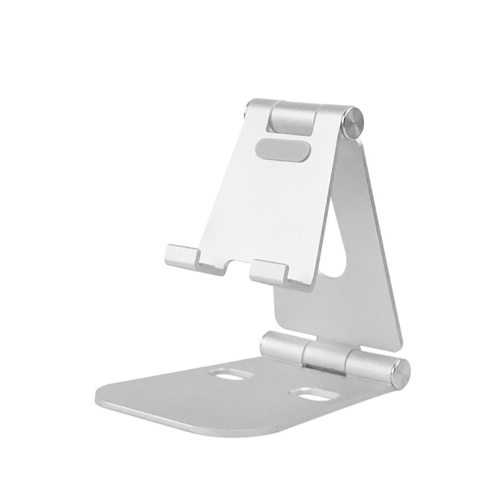 Giá đỡ điện thoại chất liệu hợp kim nhôm có thể gấp gọn điều chỉnh đa năng tiện dụng