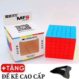 Rubik 6×6 MoYu Mofangjiaoshi MF6 Stickerless Không Viền Cao Cấp