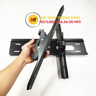 Giá treo Tivi gật gù 43 - 49 - 50 - 55 - 60 - 65 Inch - Điều Chỉnh Góc Nghiêng Lên Tới 20 Độ