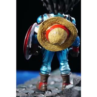 Mô hình Onepiece Luffy Captain Figure Với Mũ Rơm Full Box Bộ Sưu Tập Trang Trí Bàn Học Bàn Làm Việc Quà Tặng Ý Nghĩa