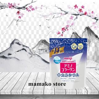 Meji Collagen Amino Plus Canxi 14 ngày/Hàng nhật có bill/AUTHENTIC