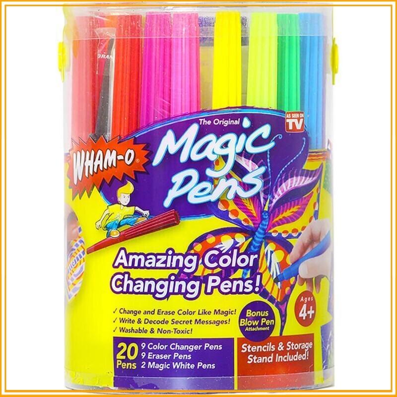 (Max Rẻ) Hộp bút màu vẽ thần kỳ magic pens tiện ích