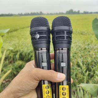 Micro Kim Loại sóng UHF UGX 23 cao cấp hát nhẹ nhàng