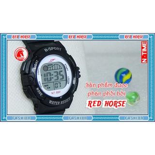 Đồng hồ điện tử trẻ em bé trai, bé gái NT-89F (Đen)