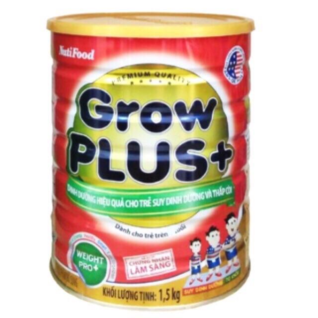 Sữa Growplus đỏ Nutifood 1,5kg