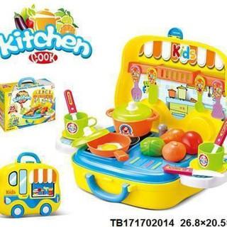 Hộp bếp nấu ăn hình ô tô Toys House – Hàng Chính Hãng