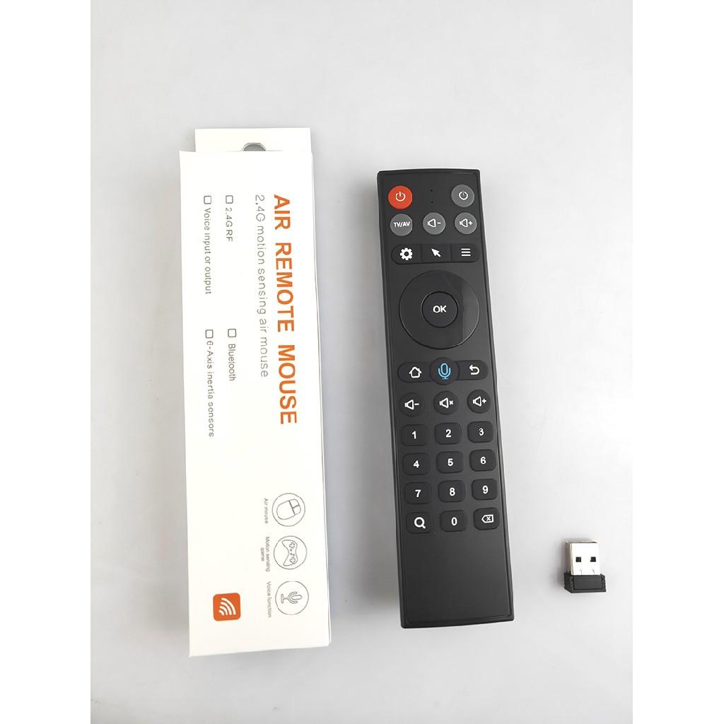 Khiển nói kèm chuột bay TZ20 - Remote Air Mouse Voice