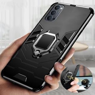 ốp điện thoại Chống Sốc Có Nhẫn Móc Ngón Tay Cho Oppo Reno 5 Pro