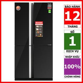 SJ-FX688VG-BK | SJ-FX688VG-RD | Tủ lạnh 4 cửa Sharp Inverter 626 lít (Hàng chính hãng, bảo hành 12 tháng)