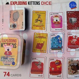 Trò chơi Mèo Nổ DICE đổ xí ngầu – Exploding Kittens DICE Edition