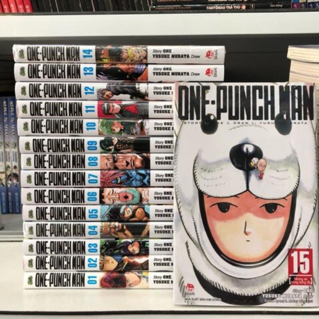 Truyện tranh One Punch Man 1-15 - 2608572 , 251024005 , 322_251024005 , 285000 , Truyen-tranh-One-Punch-Man-1-15-322_251024005 , shopee.vn , Truyện tranh One Punch Man 1-15