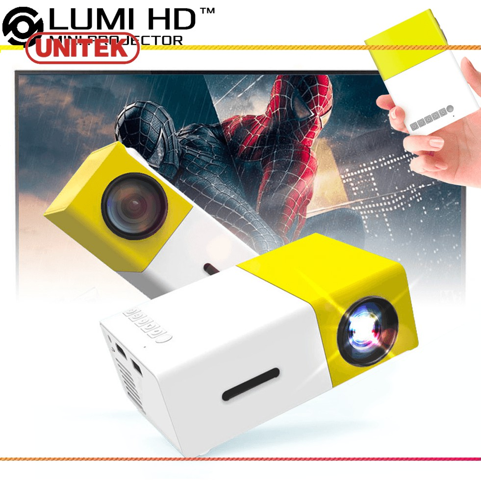 Máy chiếu mini LCD LED Projector YG-300