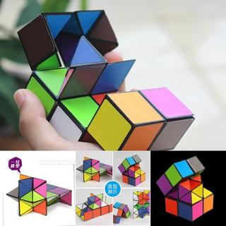 Khối rubik đồ chơi nhiều màu 3D