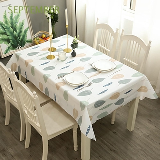 SEPTEMBER Fruit Style Table Decoration Household Table Mat Tablecloth Wash Free Waterproof Oil Proof For Outdoor Picnic PVC Multi-color Table Cover/Multicolor