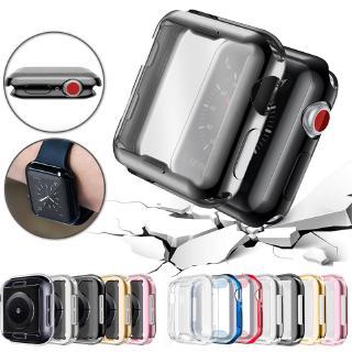 Vỏ TPU Mềm Trong Suốt Cho Đồng Hồ Thông Minh Apple Watch SE 6 5 4 3 2 1 42mm 38mm thumbnail