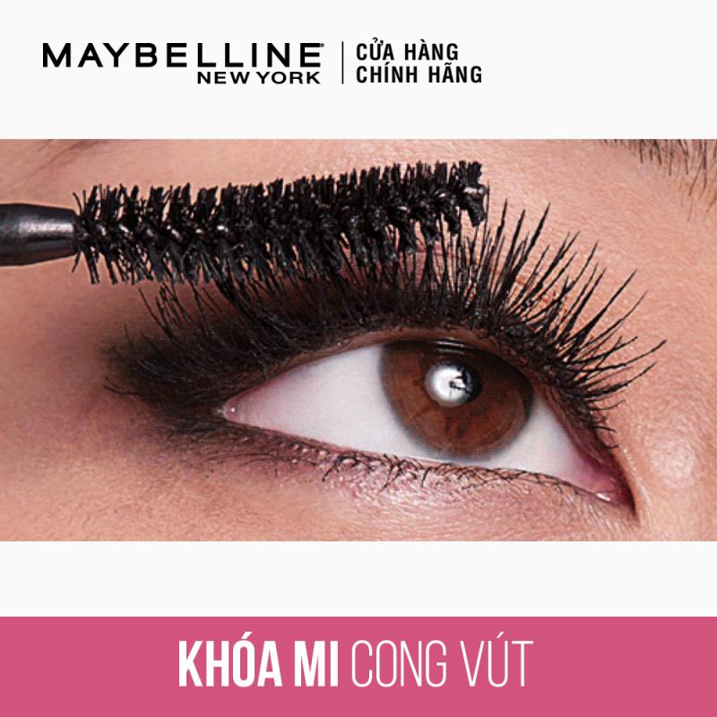 Mascara Dài Mi và Cong Mi Maybelline New York Hyper Curl Waterproof Chuốt Mi Đen 9.2ml