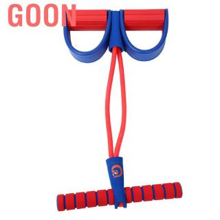 Goon 2 Tube Child Pedal Exerciser Foot Pull Rope Kid Fitness Resistance Bands Body Slim Pilates Yoga Equip