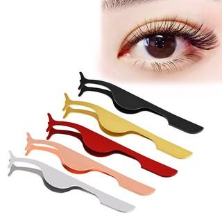 Dụng cụ nhíp hỗ trợ nối và tháo rời lông mi giả làm từ inox tiện dụng thumbnail