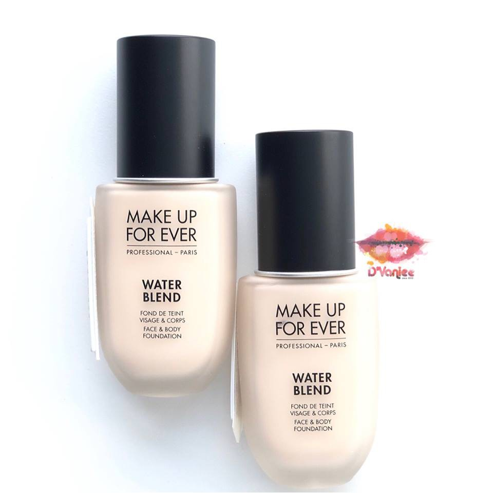 Kem Nền Make Up For Ever - Water Blend Face & Body Foundation