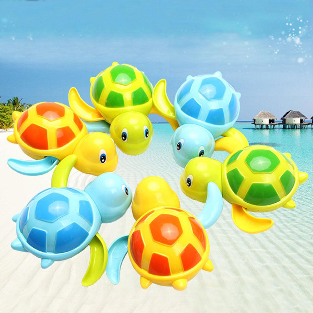 Hot-sale Wind up Cute Tortoise Toy Swimming Baby Kids Bath Toys