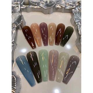 Sơn gel thạch bobo sét 12 màu các màu hót tuthanh910 shop đồ nail giá rẻ hoài út Nail Store