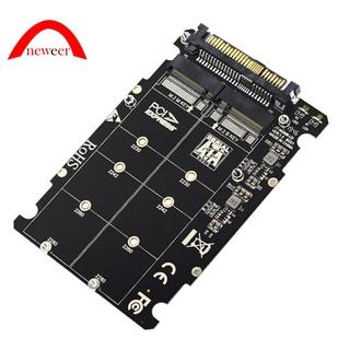 2 in 1 M.2 NVMe SATA U2PCB M.2 NVME SSD Key M Key B SSD to U.2