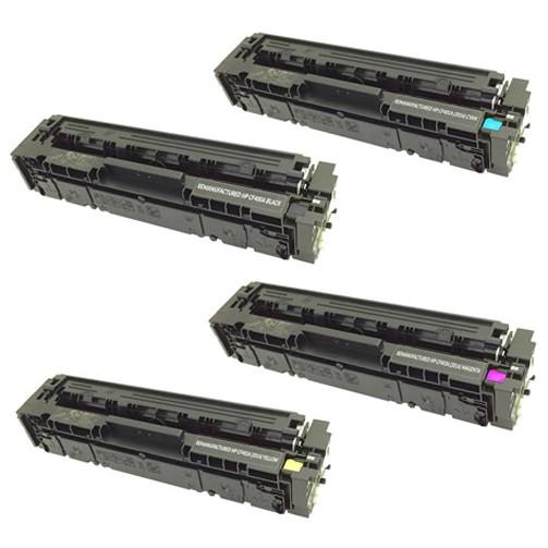[Mã 267ELSALE hoàn 7% đơn 300K] Mực in laser màu HP 201A - Mực in CF402A