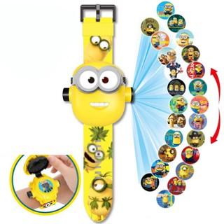 Đồng hồ điện tử đeo tay chiếu 24 hình 3D Projector Watch Minions thumbnail