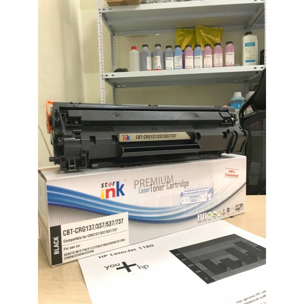 Hộp mực Star-ink83A /337 dùng cho máy in HP, Canon Có lỗ đổ mực và mực thải