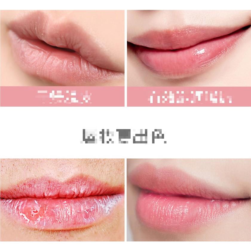 Son Dưỡng Môi Đào Vỏ Kiss Beauty PEACH 26513 LipBalm 3.5g Auth Nội Địa