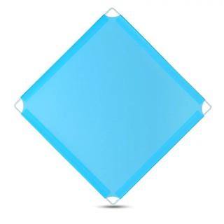 [ GIÁ RẺ VÔ ĐỊCH ] Tấm nhựa khung thép dùng đa năng cho tủ ghép chuồng quây thú chó, mèo (không bao gồm chốt) KT: 35×35