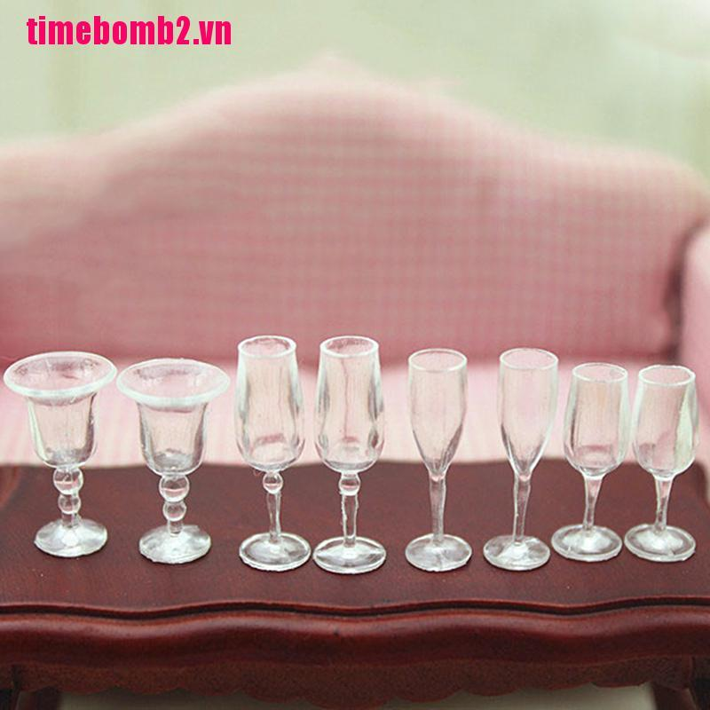 TB 4Pcs 1:12 dollhouse miniature models cup dollhouse drink model miniature