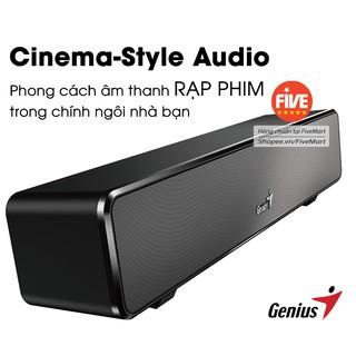 Loa SoundBar 100 Âm Thanh Vòm Sống Động Phong Cách Rạp Phim, Fullbox, Chính Hãng GENIUS thumbnail