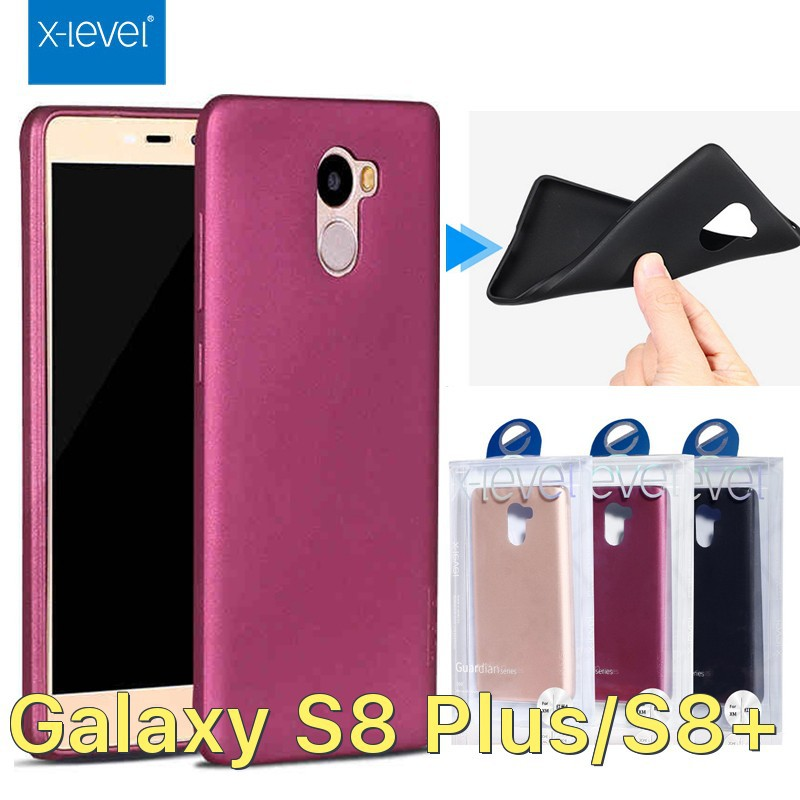 Ốp X-Level dẻo siêu mỏng ôm máy cho Galaxy S8 Plus/S8+