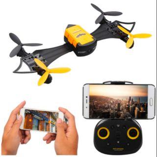 Máy bay điều khiển Flycam có Camera Wifi FPV trực tiếp tự cân bằng