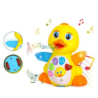 Dancing Musical Duck Toy for 1 Year Old Boys & Girls Gifts with Lights